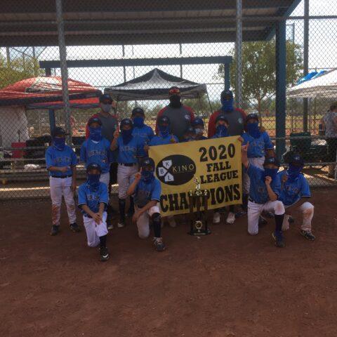 2020 Kino Fall 11U League Champions—Blue Jays