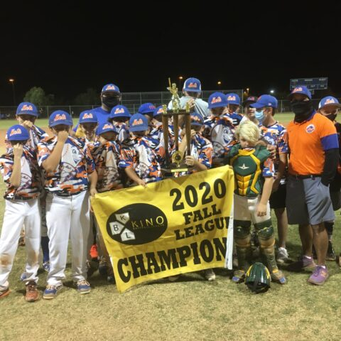 2020 Kino Fall 12U Wood Bat Champions Oro Valley Mets