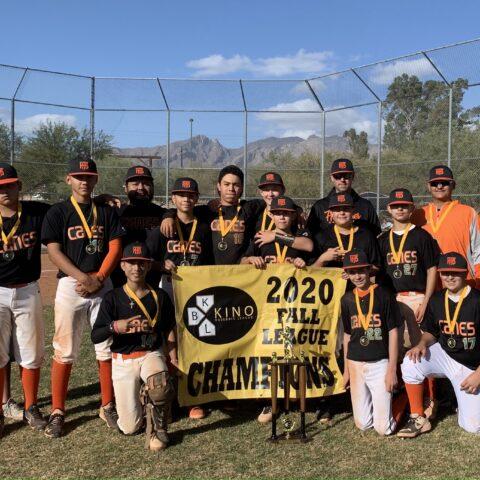 2020 Kino 13U Fall League Champions–Hurricanes