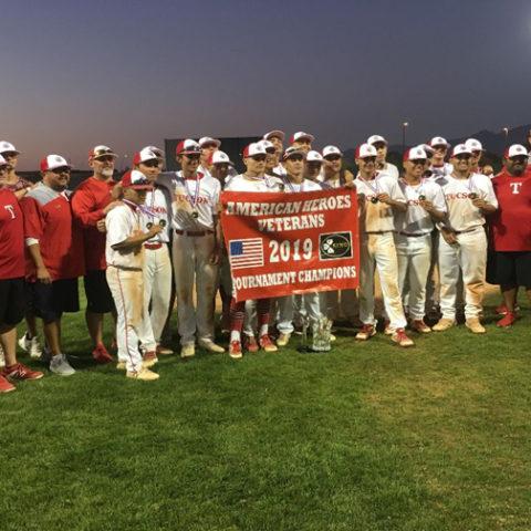 2019 American Heroes Veterans Tournament Champions Tucson High